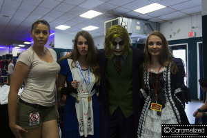 Laura Croft, Alice Madness, The Joker, and..that girl.