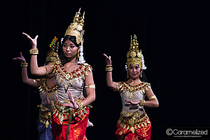 Night of Asia 2014 Cambodian Apsara dance by Cambodian American Community Service