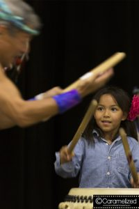 Matsuriza Drummers - Teaching the next generation Photo by Jeff